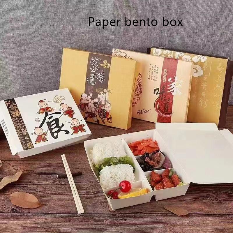 Paper Bento Box - Yarrapack
